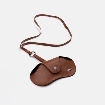 estuche e-mo pocket case brown, , large.