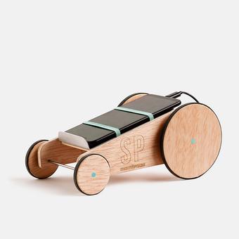 juguete solidario coche carreras micro usb screen pollution, , large.