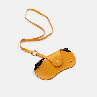 estuche e-mo pocket case yellow, , large.