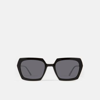 mó sun geek 74A, black/white, large