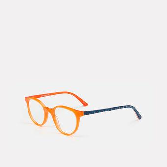 mó junior 69A, orange/pattern, large