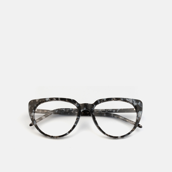 mó upper 436A C, veined black-grey, large