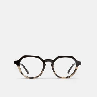 mó geek 59A, black/havana ivory, large