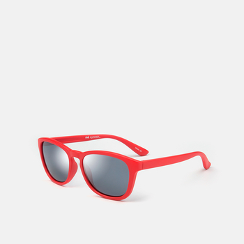 mó sun kids 77I A, red/silver, large