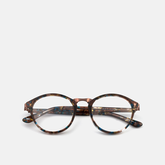 mó upper 391A B, brown-blue, large