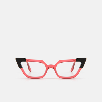 mó geek 84A, coral-black, large