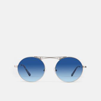 mó sun geek 68M B, silver/blue, large