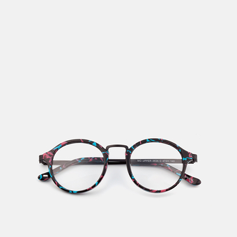mó upper 363A C, black/blue/pink, large