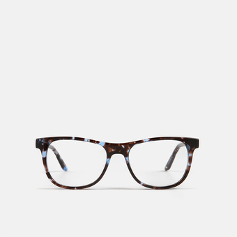 mó junior 73A A, tortoiseshell-blue, large
