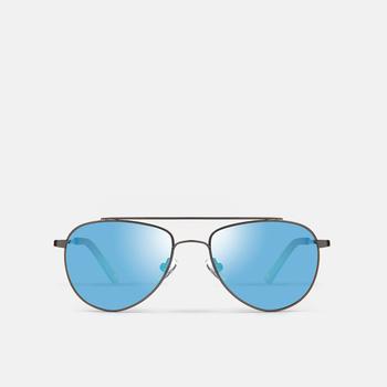 mó sun kids 92M, gun metal/blue, large