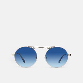 mó sun geek 68M, silver/blue, large