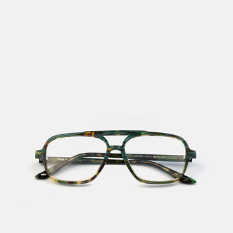 mó junior 77A A, green-tortoiseshell, large