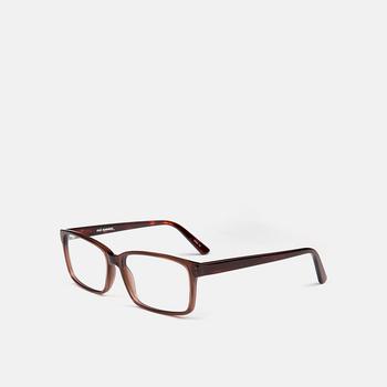 mó casual 76A A, brown/havana, large