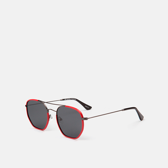 mó sun geek 60M A, red/gun metal, large
