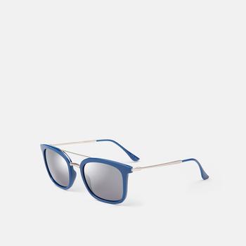 mó sun 194I A, blau/platejat, large