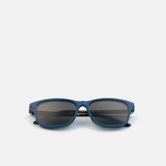 mó slim 126I B, carey-blue, large