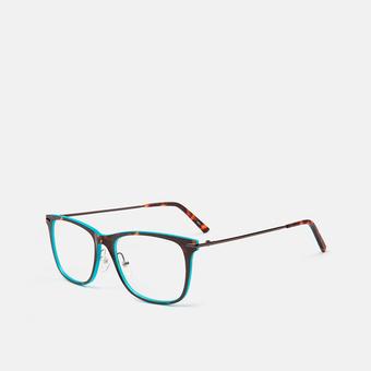 mó slim 45I B, havana/turquoise, large