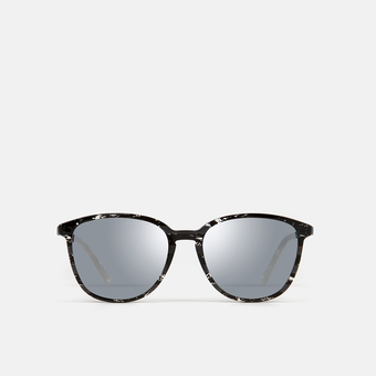 mó sun rx 185A B, black/silver, large
