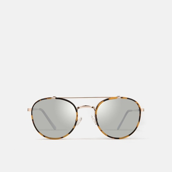 mó sun geek 62M B, havana/light gold, large