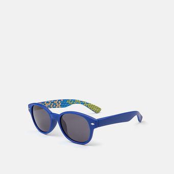 mó sun kids 68I B, blue/pattern, large