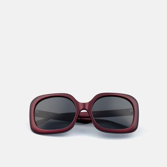 mó sun rx 245A C, burgundy, large