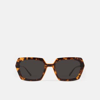 mó sun geek 74A, havana/orange, large