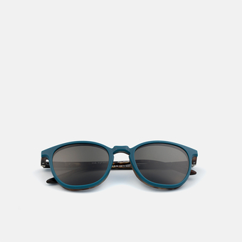 mó slim 135I C, carey-blue, large