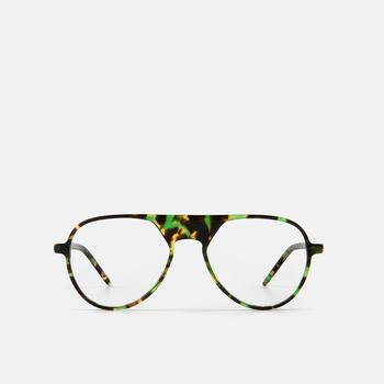 mó slim 96A A, havana-green, large