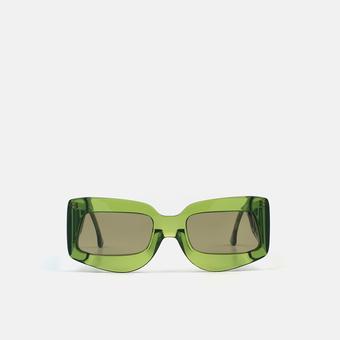mó PALOMO PETRA SUN, green, large