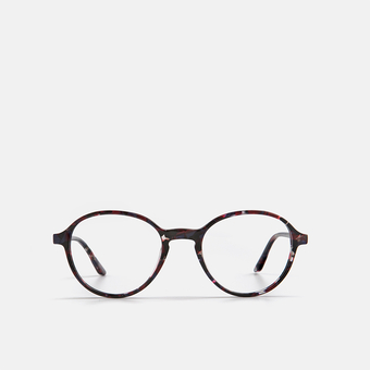mó upper 454A A, black-red, large