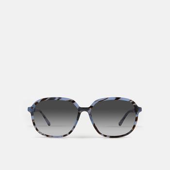 mó sun rx 208A, havana-blue, large