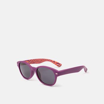 mó sun kids 68I A, purple/pattern, large