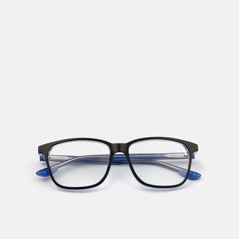mó casual 110A B, black/blue, large