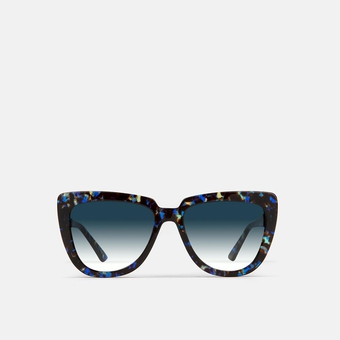 mó sun geek 55A B, havana-blue, large