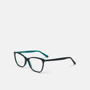 mó casual 86A, blau fosc/verd, large