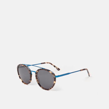 mó sun geek 75A, havana/blue, large