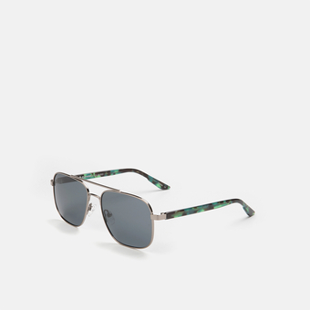 mó sun rx 226M C, gun-metal grey/green, large
