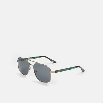 mó sun rx 226M, gun-metal grey/green, large
