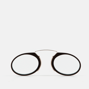 mó mini reading GLASSES, beltza, large