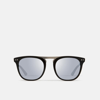 mó sun geek 58A B, black/silver, large