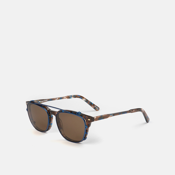 mó upper 426A, brown-blue, large