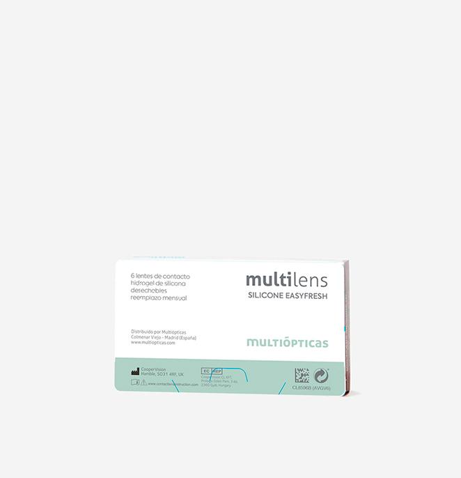 multilens silicone easy fresh