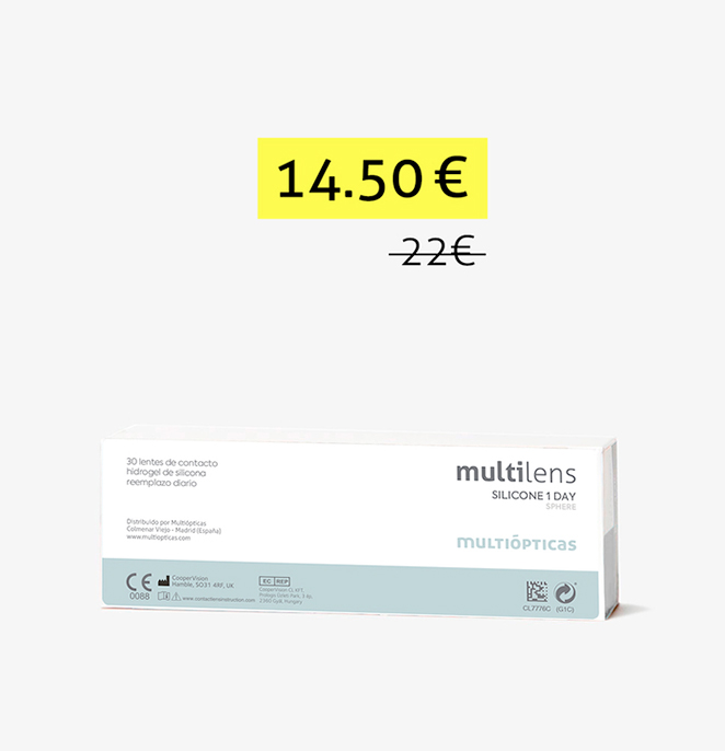 multilens silicone 1 day