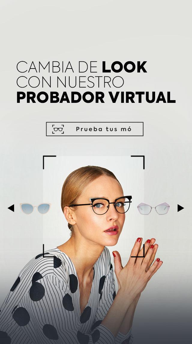 probador de gafas virtual de multiópticas