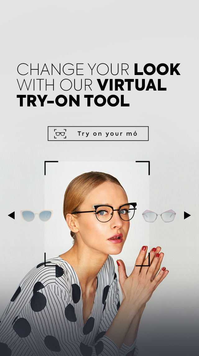 Multiópticas virtual glasses try-on tool