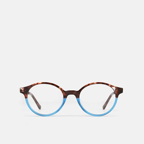 mó upper 374A, havana/blue, medium