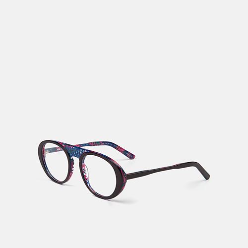 mó geek 75A A, purple/pattern, medium
