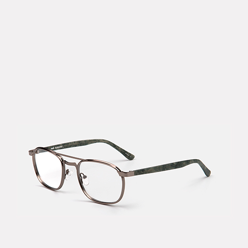 mó upper 390M A, gun metal/green, medium