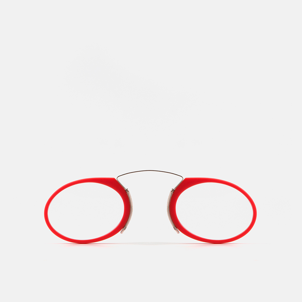 mó mini reading GLASSES, red, large