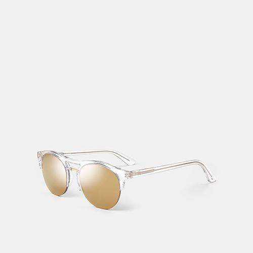 mó sun geek 57NY A, crystal/gold, medium